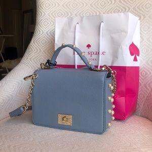 Kate Spade baby blue purse